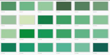 Yeşil Yeşil Renk Türleri Ve özellikleri Yesilgentr